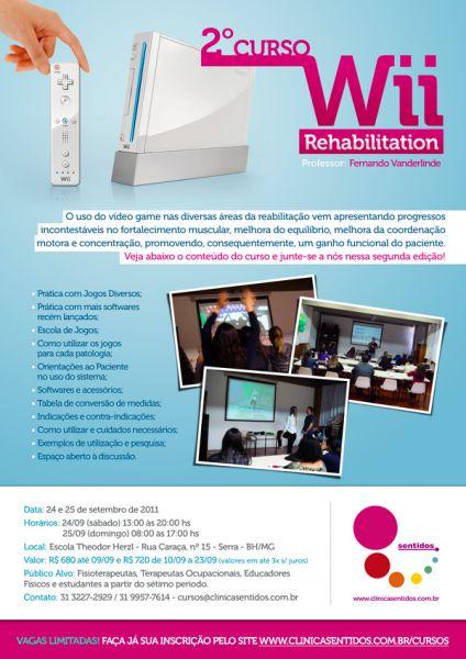 II Curso de Wii Rehabilitation