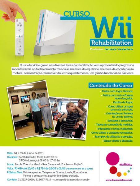 I Curso de Wii Rehabilitation